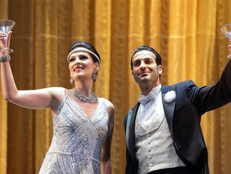 Adela Zaharia, Rame Lahaj, Vitaliy Bilyy & Juan Carlos Heredia in La Traviata at the LA Opera