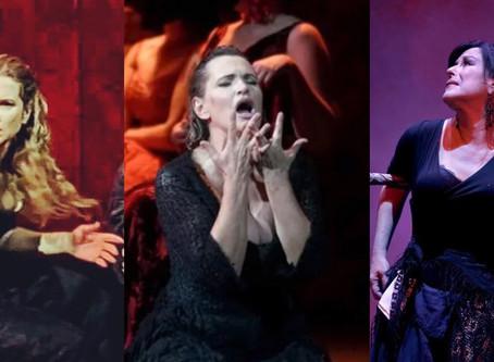 Ainhoa Arteta, Nancy Fabiola Herrera & Virgina Tola at Teatro de la Zarzuela