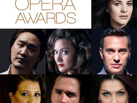 Seven Operalia Winners among 2020 International Opera Awards Nominees