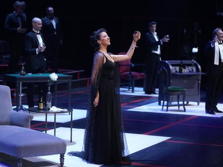Lisette Oropesa in La Traviata at Teatro Real