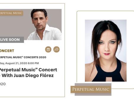 Mariangela Sicilia at Rolex Perpetual Music Concert