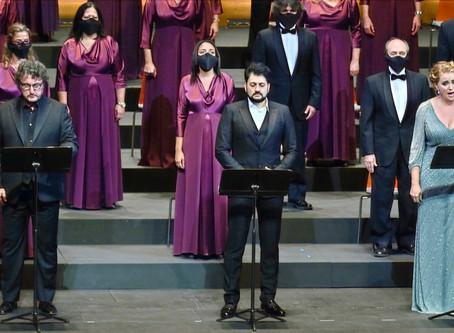 Rachel Willis-Sørensen and Ludovic Tézier in Il Trovatore at Gran Teatre del Liceu
