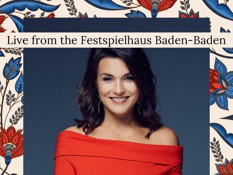 Olga Peretyatko in concert for Festspielhaus Baden-Baden