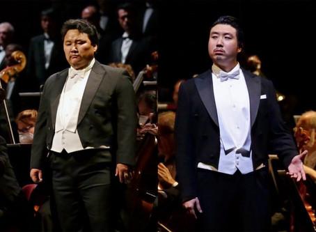 Amartuvshin Enkhbat and Jongmin Park in Aida at Teatro alla Scala
