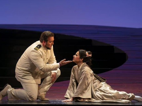Ana María Martínez and Brian Jagde in Madame Butterfly at the Lyric Opera of Chicago