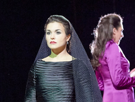 Olga Peretyatko in Don Giovanni at the Wiener Staatsoper