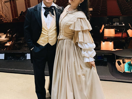 Olga Peretyatko & Dmitry Korchak in Les Contes d'Hoffmann at the Wiener Staatsoper