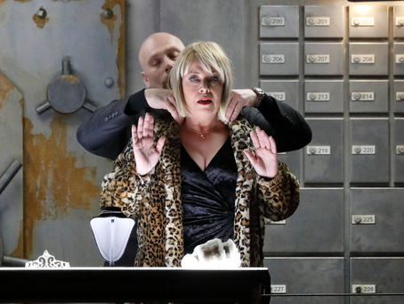 Nina Stemme in Judith at the Bayerische Staatsoper