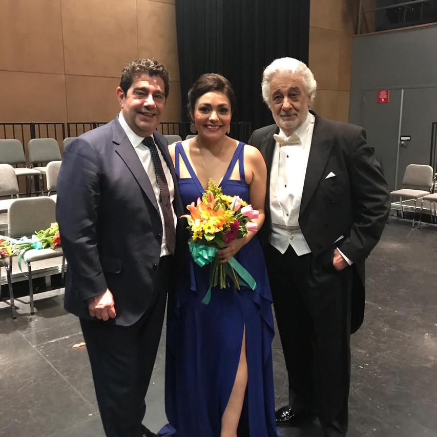 Alvaro Domingo, Ailyn Perez, Placido Dom