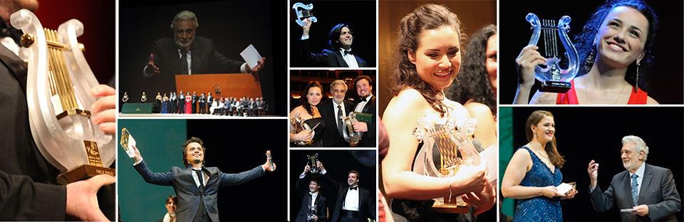 Operalia, Winners, Prizes, Lyre, P