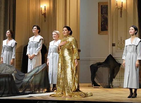 Hera Hyesang Park, Kiandra Howarth, Adela Zaharia and Nadezhda Karyazina in 7 Deaths of Maria Callas