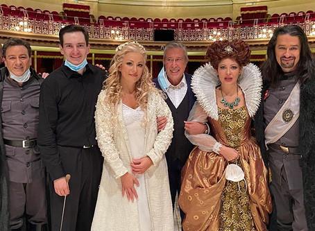 Irina Lungu and John Osborn at Ópera de Oviedo