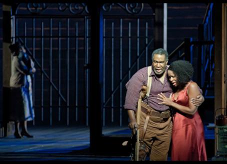 Janai Brugger & Eric Owensin Porgy and Bess at the Dutch National Opera
