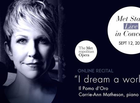 Joyce DiDonato in the Metropolitan Opera's Met Stars Live in Concert series
