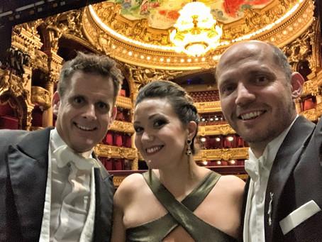 Julie Fuchs and Stéphane Degout at Palais Garnier