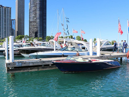 Chicago Yacht Club Power & Sail In-Water Tech Show