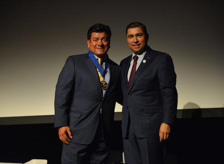 NAUTIC-ON's Lou Sandoval receives MAESTRO Award for Entrepreneurship