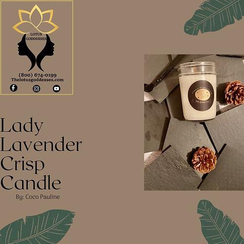 Lady Lavender Crisp Candle