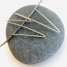 Zig Zag Pendant Necklace