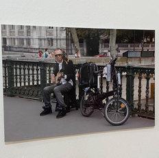 Metal Print Street Musician, Paris 2018