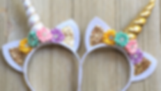 Unicorn Headbands Sleepover Party