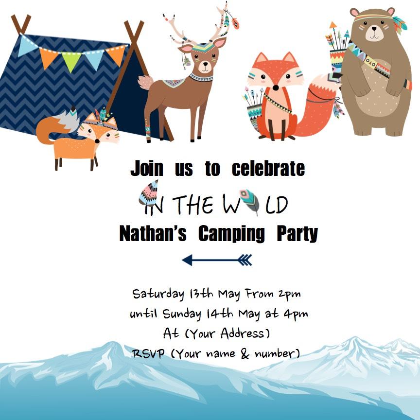 in the wild invite