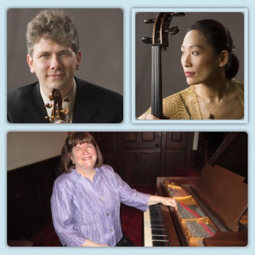 Nicholas Kitchen, Violin - Yeesun Kim, Cello - Ann Sears, Piano