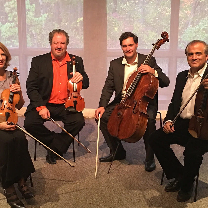 The LiveARTS String Quartet Returns for their 10th Anniversary Performance!