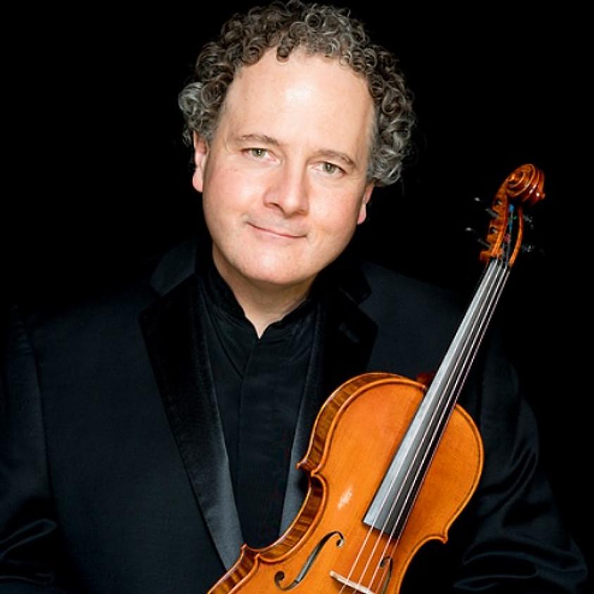 LiveARTS' Annual Fundraiser! Boston Symphony Orchestra Violinist Victor Romanul and Lisa Romanul, Piano