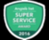Angie's List Super Service Award 2016 Piano Tuning Service