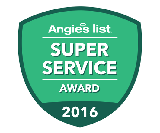 Angie's List Super Service Award 2016 Piano Tuning Service