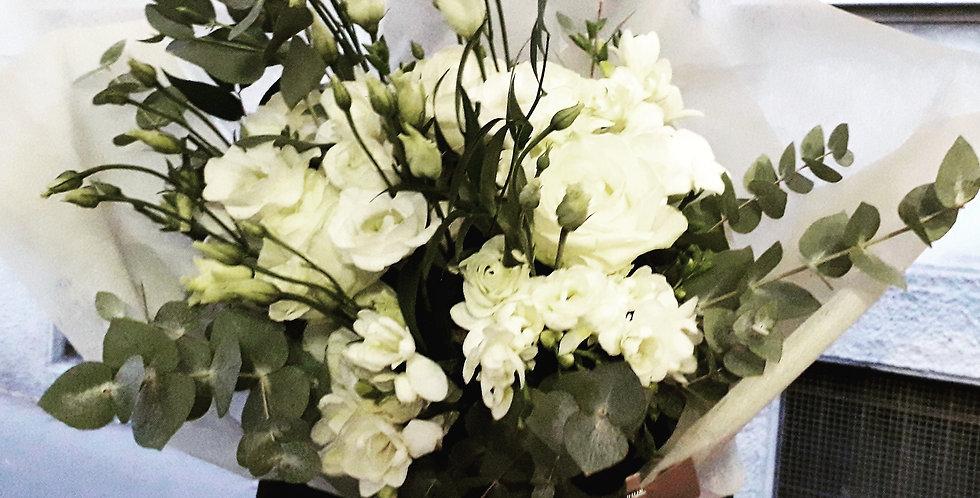 Bouquet bianco elegante