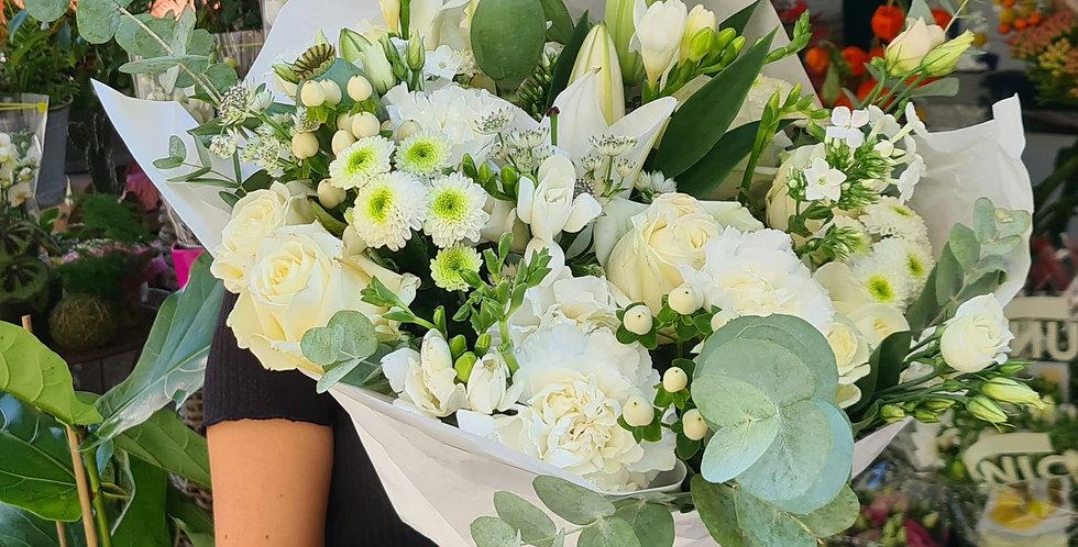 Bouquet tutto bianco