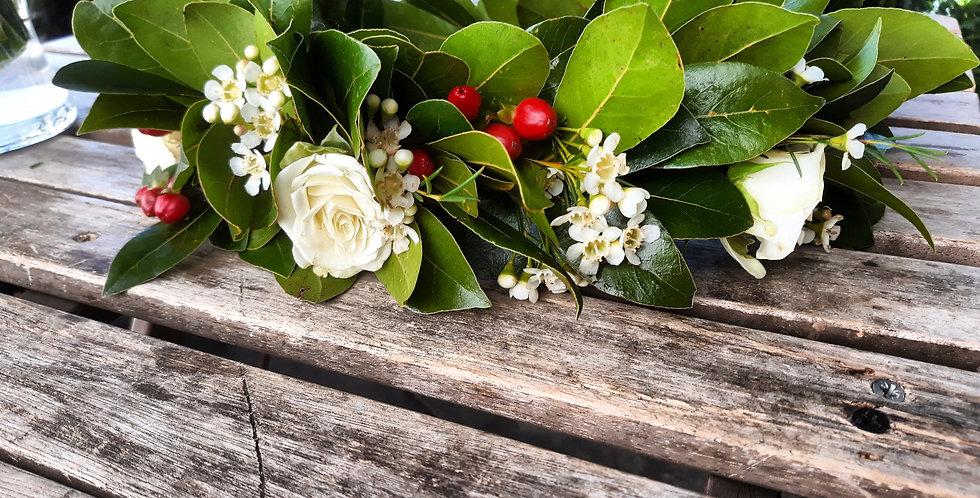 Coroncine da laurea con fiori