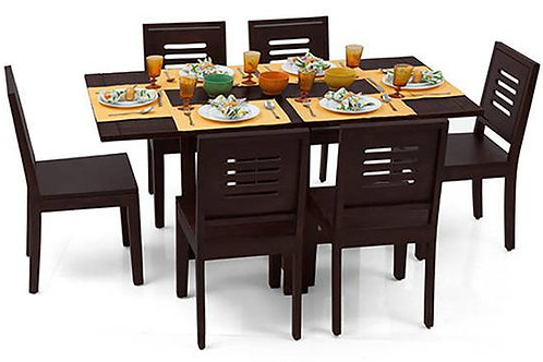 Dining table assembly (excludes chair assembly, if needed charges extra )