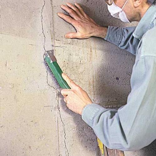 Crack filling or repair up above 3mm and below 8mm