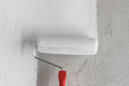 Applying of  2 coat of primer on wall
