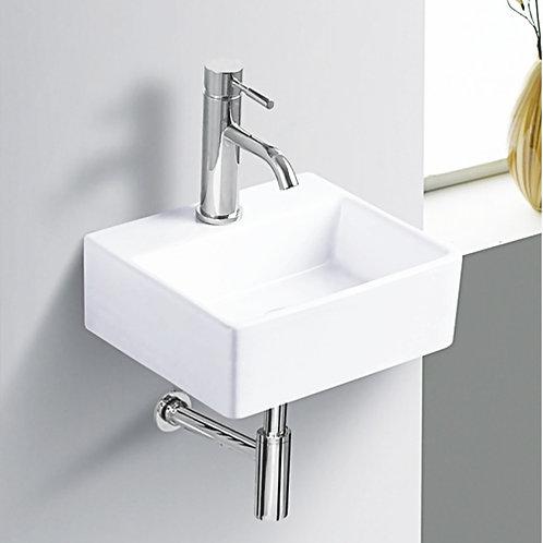 Wash basin/sink installation