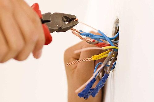 Wiring without casing(per 5 meter)