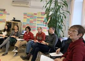 27-29 февраля проходит очный методический семинар «Тренинг для тренеров»
