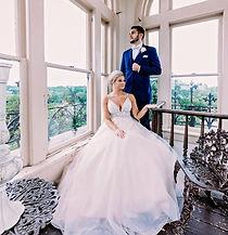 bride groom giggle stunning