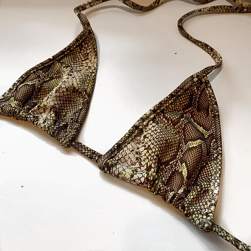 THATS SO.. SAGE SNAKE  BRA
