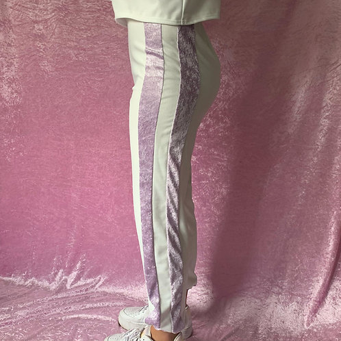 THATS SO.. CRUSHED SPRING DREAMS STRIPED JOGGERS