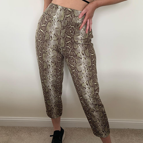 THATS SO.. SAGE SNAKE TROUSER