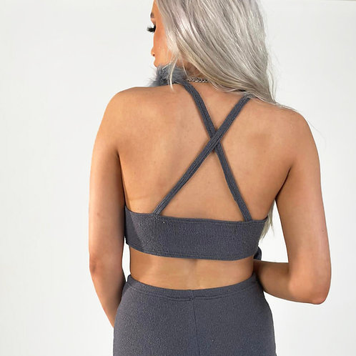 THATS SO.. THE SILVER LINING  KNIT CAMI