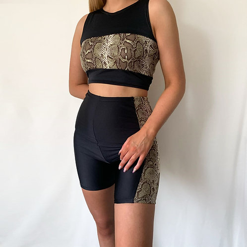 THATS SO.. SAGE SNAKE SHORT CO-ORD
