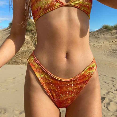 THATS SO.. ORANGE DAZZLE KINI BOTTOMS