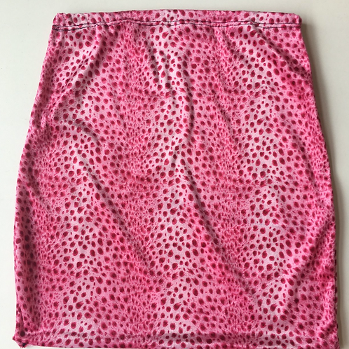 THATS SO.. PINK LEOPARD SKIRT