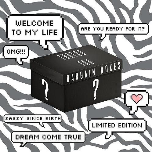 THATS SO.. YOU'S BARGAIN BOX