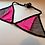 Thumbnail: THATS SO.. SLIGHTLY PINK N SILVER SHIMMER MESH PINK BRA